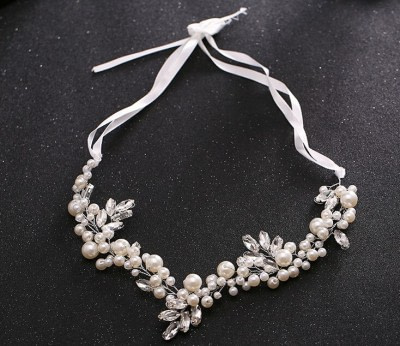 Bridal Hairvine with Pearls