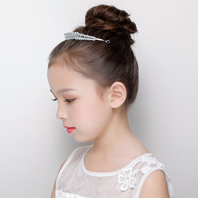 Sparkling crystal Tiara for Flower Girl Headpieces