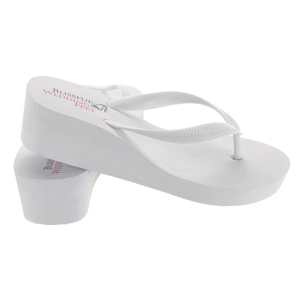 High Wedge Heel Flip Flops can be reused