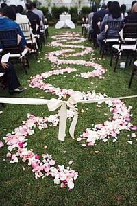 Wedding Isle Decoration Ideas