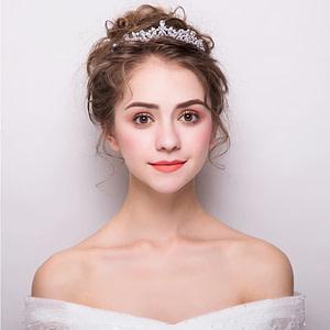 Beautiful Princess Tiara worn by Bride